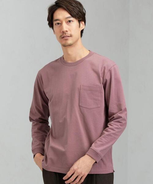 SC ヘビーウェイト クルー LS Tシャツ