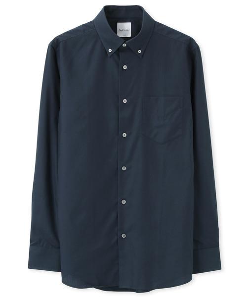 シャドーチェック ドレスシャツ / 103203 803PNM