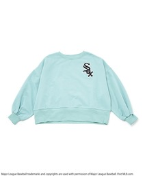 【MLB】ワンポイント刺繍オーバートップスグリーン