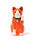 BEAMS JAPAN(ビームス ジャパン)の「中外陶園 × BEAMS JAPAN / 別注 まねき猫 左手 3号(インテリア雑貨)」 オレンジ
