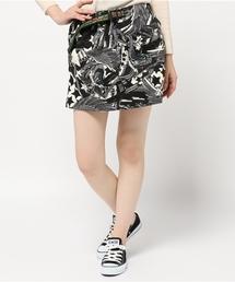 ALDIES(アールディーズ)のWing Star Skirt スタープリント クライミングスカート(スカート)