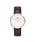 Daniel Wellington(ダニエルウェリントン)の「「Daniel Wellington/ダニエルウェリントン」 クラシック 36mm レザーバンド ローズゴールド/シルバー(腕時計)」 ダークブラウン