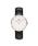 Daniel Wellington(ダニエルウェリントン)の「「Daniel Wellington/ダニエルウェリントン」 クラシック 36mm レザーバンド ローズゴールド/シルバー(腕時計)」 ブラック