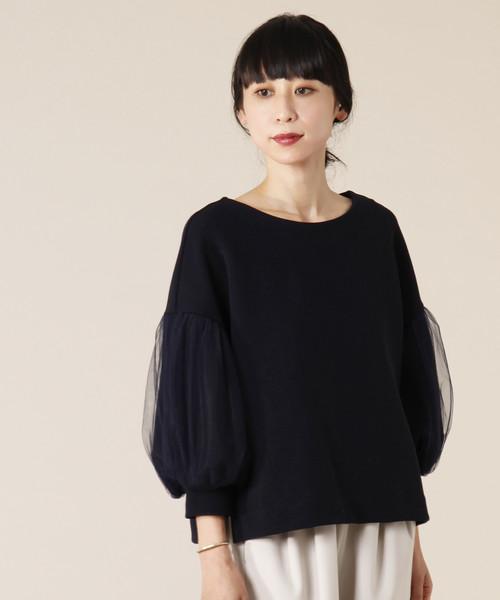 【今日の超目玉】 チュールコンビミラノリブトップス(Tシャツ/カットソー)|TIARA(ティアラ)のファッション通販, akibainpulse:9fd416de --- bebdimoramungia.it