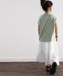 classicalelf(クラシカルエルフ)の綿100%USAコットン。1枚でお洒落っ子に。大人っぽTシャツ。(Tシャツ/カットソー)