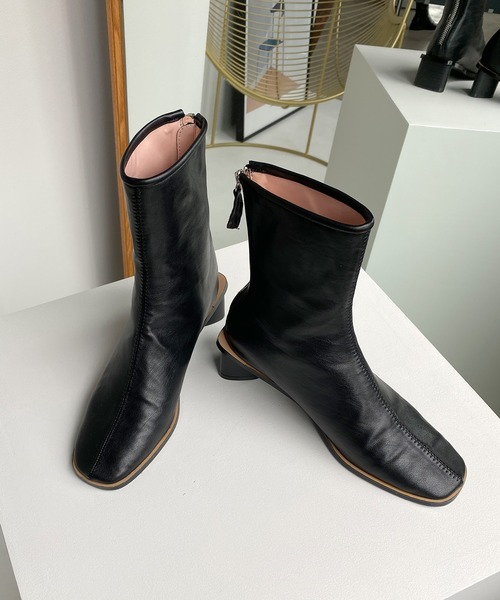 【chuclla】【2020/AW】triangle-heel boots chs82