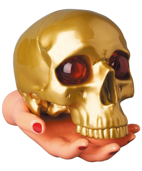 UNDERCOVER x P.A.M. SKULL & HAND LAMP GOLD
