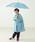 こども ビームス(コドモビームス)の「こども ビームス / ユニセックス 窓付き bロゴ カラー 長傘 (45 & 50cm)(長傘)」|詳細画像