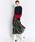 TRUNO by NOISE MAKER(トルノバイノイズメーカー)の「新色&新柄発売 ★ボタニカル花柄スカート★(スカート)」|ブラック