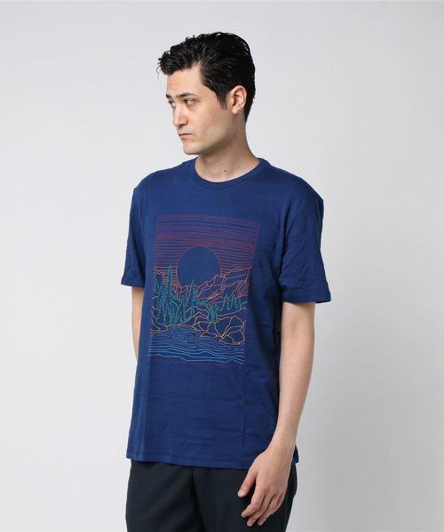 グラフィック 半袖Tシャツ --
