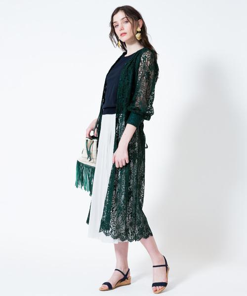 割引購入 【セール】コードレース羽織りワンピース(ワンピース)|Loulou Willoughby(ルルウィルビー)のファッション通販, AQUA-F:f04a5942 --- genealogie-pflueger.de
