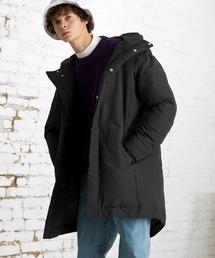 【EMMA CLOTHES】ブライトNC ロングリアルダウンジャケット/モンスターパーカー ロングダウンJKT ダウンコートブラック