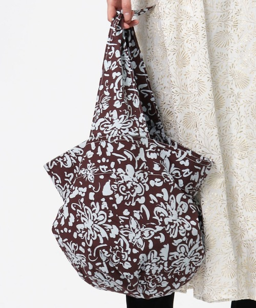 ∴ 【 ne Quittez pas / ヌキテパ 】 PRINT MARCHE BAG / プリントマルシェバッグ