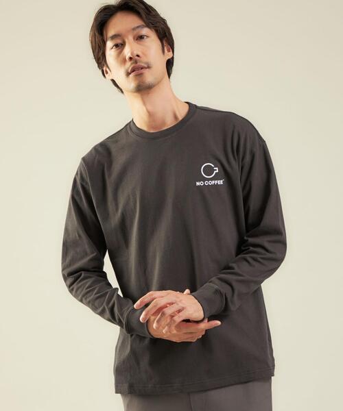 【別注】<FRUIT OF THE LOOM×NO COFFEE>ロゴ T2 Tシャツ ロンT