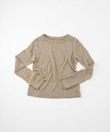 45R(フォーティファイブ・アール)の撚り杢天竺の45星Tシャツ(Tシャツ/カットソー)