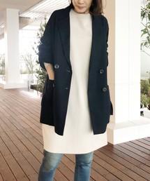 aquagirl(アクアガール)のダブルボタンジャケット(テーラードジャケット)