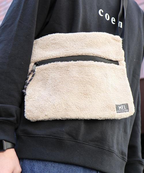 【女性にもオススメ】MEI(メイ)別注ボアフリースサコッシュバッグ