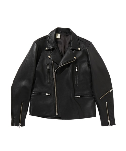 SPRING2020 LEATHER RIDERS BLOUSON