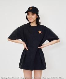 【MLB】ワンポイントロゴTシャツブラック