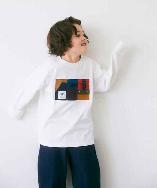 【別注】TJ EX<grn outdoor (ジーアールエヌ アウトドア)>ポケットオーバーサイズロングスリーブ/ Tシャツ XS-S