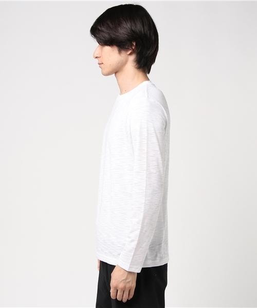 クルーネックロングスリーブTシャツ