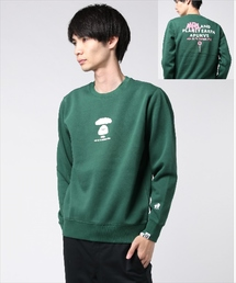 AAPE BY A BATHING APE(エーエイプバイアベイシングエイプ)のAAPE CREW KNIT(スウェット)