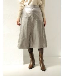 YECCA VECCA(イェッカヴェッカ)の【WEB先行予約】フェイクレザースカート(スカート)