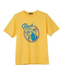 ROCK SOCIETY  Tシャツイエロー