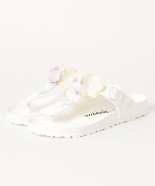 BIRKENSTOCK ビルケンシュトック GIZEH FLOWER EVA WHITE