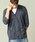 London Denim(ロンドンデニム)の「スラブ カーディガン 7分袖 アンサンブル 2枚セット(カーディガン)」 詳細画像