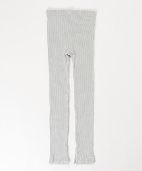 【HANES/ヘインズ】1P HANES UNDIES RIB LEGGINGS HW9-Q251
