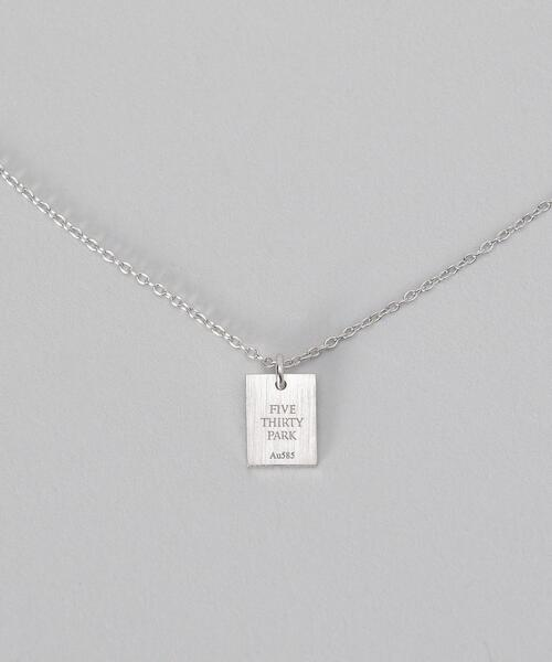 <530PARK>TAG NECKLACE/ネックレス.