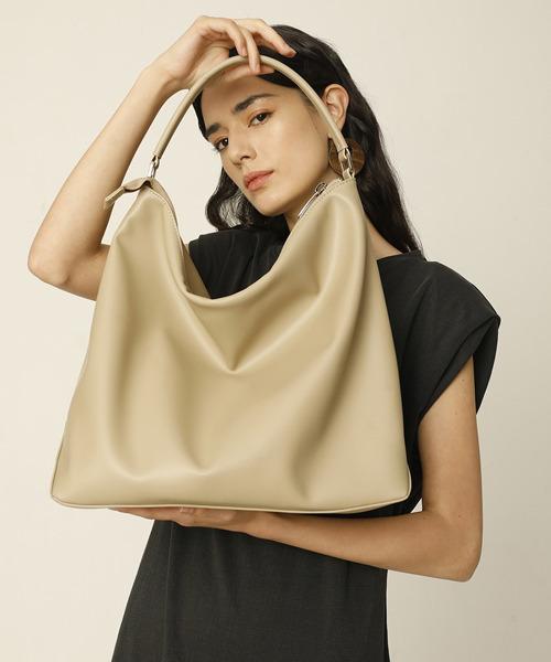 【chuclla】Leather zipper shoulder bag cha205