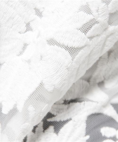 ダル糸天竺刺繍トップス(美的4月号,JJ4月号掲載) (美的5月号)  (CHANTO5月号)  (ar5月号)