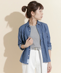 URBAN RESEARCH DOORS WOMENS | FORK&SPOON Chambray Work Shirt(シャツ・ブラウス)