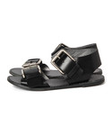 maturely | 【GINZA 2月号掲載】maturely / Leather Mens Hep Sandal(サンダル)