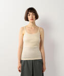 Steven Alan | <Steven Alan>COTTON FRIES CAMISOLE TANK TOP/タンクトップ(細肩帶背心)