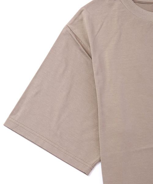 LILIMEEK/リリミーク bland logo t-shirt 18CU-02