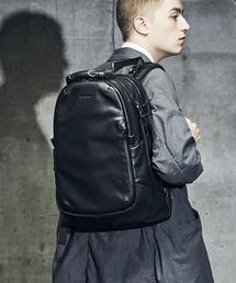 BROSKI AND SUPPLY(ブロスキーアンドサプライ)の防水レザーバックパック【BROSKI AND SUPPLY/ブロスキーアンドサプライ】Rover / waterproof leather backpack(バックパック/リュック)