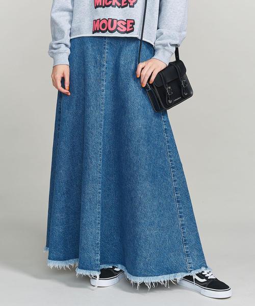 <UPPER HIGHTS>THE MAXI デニムマキシスカート