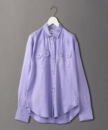 <6(ROKU)>AMUNZEN SHIRT/シャツ