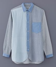 FRANK LEDER(フランクリーダー)のFRANK LEDER VINTAGE FABRIC EDITION MULTI STRIPE SHIRT(0616083)(シャツ/ブラウス)