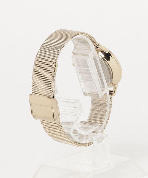 ARMITRON 腕時計 レディース アナログ メッシュ ブレスレットウォッチ