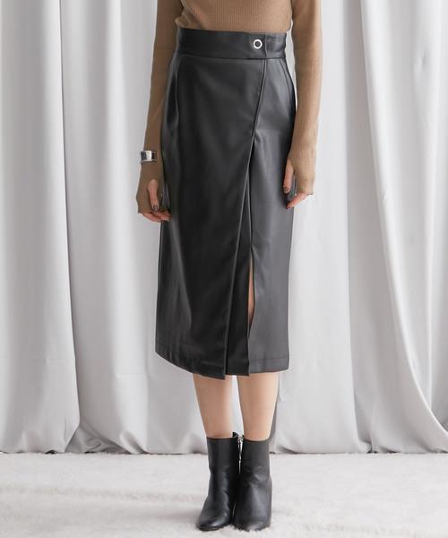 おすすめネット 【STUDIOUS】アシンメトリーエコレザースカート(スカート)|STUDIOUS(ステュディオス)のファッション通販, マイセン:d9ec5a75 --- blog.buypower.ng