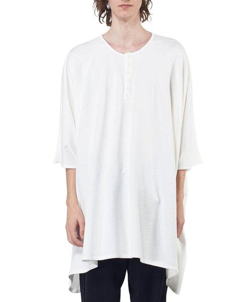 ROGGYKEI(ロギーケイ)の「ROGGYKEI スクエアオーバーサイズTシャツ(Tシャツ/カットソー)」 ホワイト