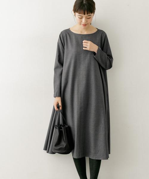【新品】 ウールAラインワンピース(ワンピース)|かぐれ(カグレ)のファッション通販, 比和町:e825b5a3 --- skoda-tmn.ru