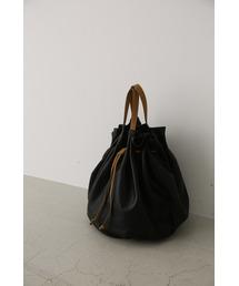 RIM.ARK(リムアーク)のSoft leather round bag(ハンドバッグ)