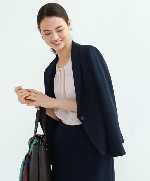 【マシンウォッシュ/UV】ハイストレッチ テーラードジャケット