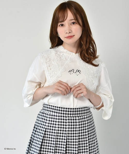 miffy襟付ショートTEE