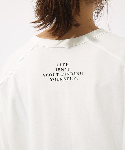 LIFE IS ルーズ TEE